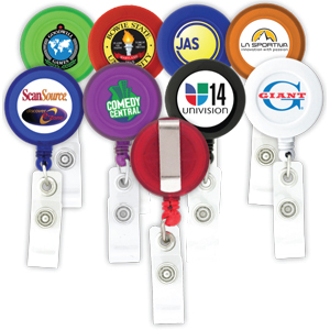 Round Shaped Retractable Badge Holders