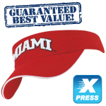 Promotional Embroidered Visors
