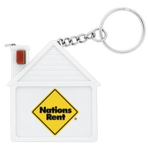 Saver House Tape Measure Keyrings
