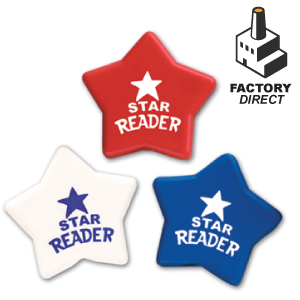 Star Shaped Erasers