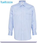 Van Heusen Mens Mini Herringbone Classic Fit Shirts