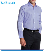 Van Heusen Mens Nail Head Classic Fit Shirts