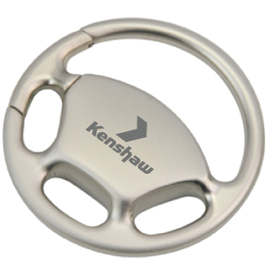Wheel Nuts Metal Keyrings