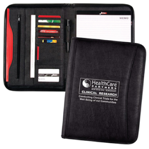 Zippered Pocket Portfolio