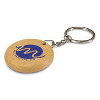 Promotional Wooden Keyrings