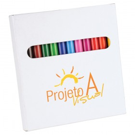 12 Piece Colouring Pencils