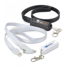 3 In 1 Charger Lanyards