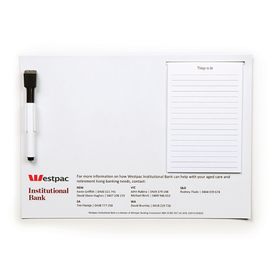 A4 Notepad & Whiteboards