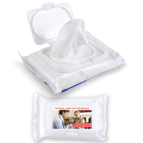 Anti Bacterial Wipes Pouches