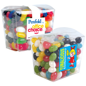 Assorted Jelly Beans Clear Boxes