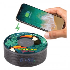 Bluetooth Speaker Wireless Charging Clocks