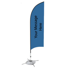 Bow Banner Flags - Double Sided