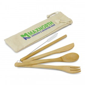 Branded Bamboo Cutlery Sets