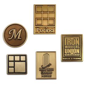 Bronze Lapel Pins