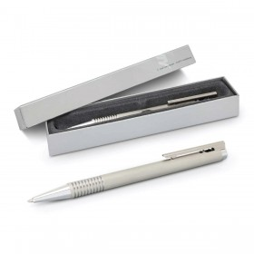 Brushed Steel Lamy Logo Pens