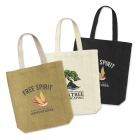 Budapest Jute Tote Bags