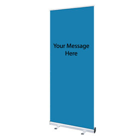 Social Distancing Pull-Up Banners
