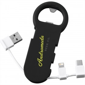 Charge Cable Bottle Openers