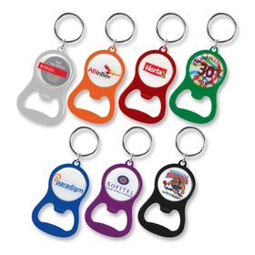 Chevron Bottle Opener Keyrings