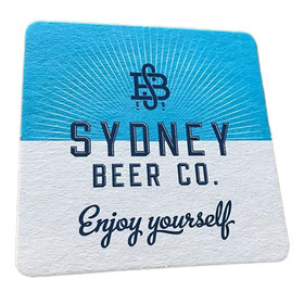 Coaster Square 95mm 1 Side