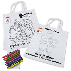 Colouring Cotton Tote Bags