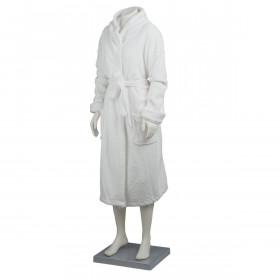Coral Fleece Hooded Bath Robes