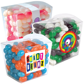 Jelly Beans Clear Boxes