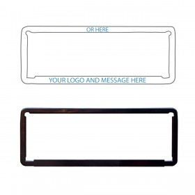 Custom Number Plate Frames