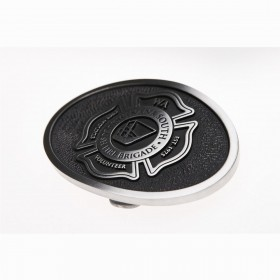 Custom Pewter Belt Buckles - Large