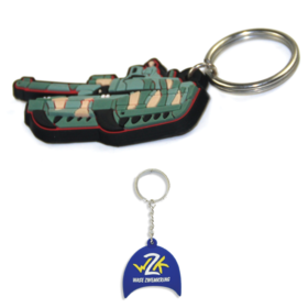 Custom PVC Keyrings