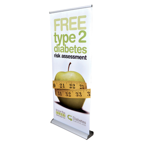 Deluxe 85cm Roll Up Banners