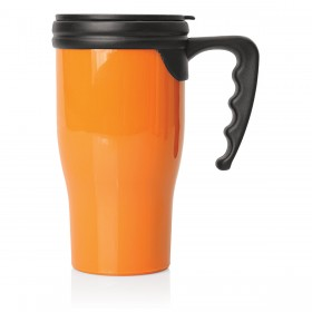 Double Wall Plastic Travel Mugs