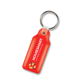 Flexi Resin Rectangular Keyrings