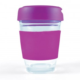 Flip Lid Glass Cups