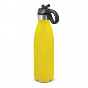 Flip Lid Powder Coated Vacuum Bottles