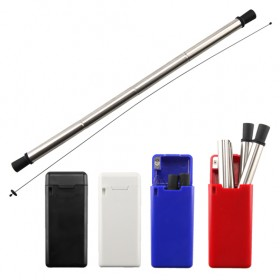 Foldable Metal Straws