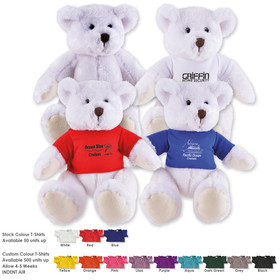 Frosty Plush Teddy Bears