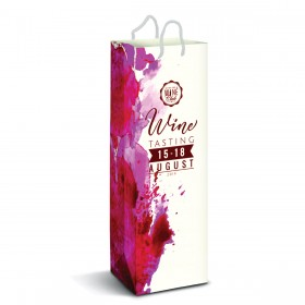 Full Colour Paper Wine Bags