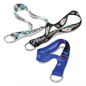 Full Colour Polyester Keyrings
