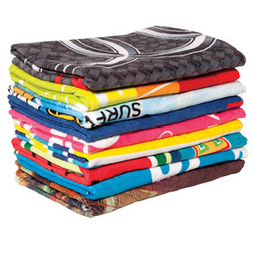 Full Sublimation Beach Towels
