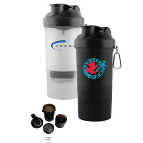 Gym 3 in 1 Shaker Cups