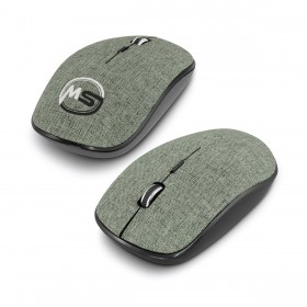 Heather Wireless Travel Mouse
