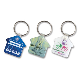 House Flexi Resin Keyrings
