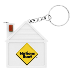 House Tape Measure Keyrings