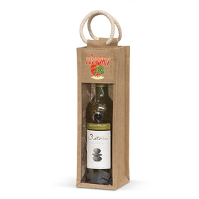 Jute Wine Carriers