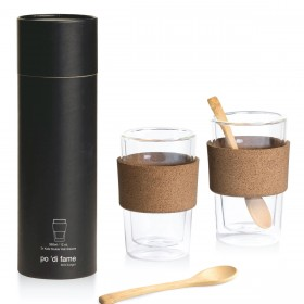 Kafe Double Walled Glass Sets