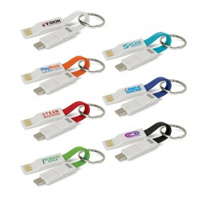 Keyring Charging Cables