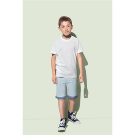Kids Organic Crew Neck Tees
