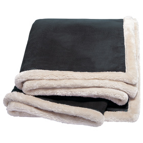 Kosiosko Faux Leather Throw