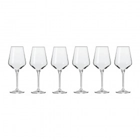 Krosno Avant-Garde Wine Glasses (6 Piece)